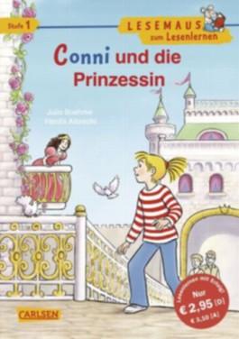 LESEMAUS zum Lesenlernen Stufe 1, Band 320: Conni und die Prinzessin