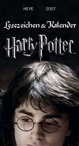 Lesezeichen und Kalender Harry Potter 2007. (Kalender)