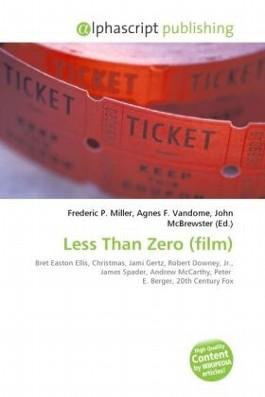 Less Than Zero (film)