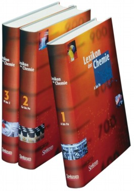 Lexikon der Chemie, 3 Bde.