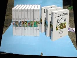 Lexikon der Kunst, 12 Bde.