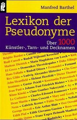 Lexikon der Pseudonyme