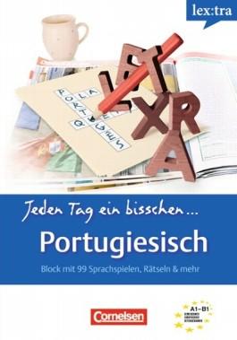 Lextra - Portugiesisch - Jeden Tag ein bisschen Portugiesisch / A1-B1 - Selbstlernbuch