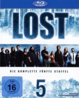 Lost, 5 Blu-rays. Staffel.5