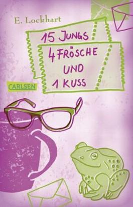 Mädchenbuch-Aktion: 15 Jungs, 4 Frösche und 1 Kuss
