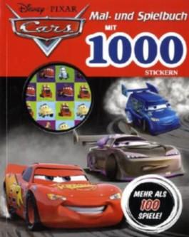 Mal- und Spielbuch mit 1000 Stickern