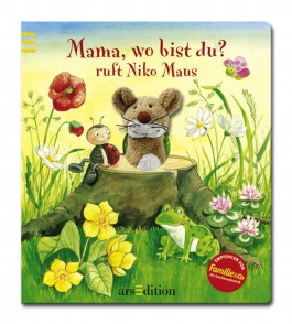Mama, wo bist du?, ruft Niko Maus, m. Maus-Fingerpuppe