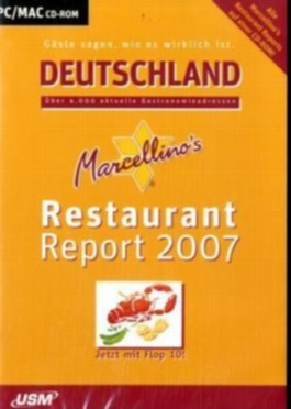 Marcellino's Restaurant Report Deutschland 2007, 1 CD-ROM
