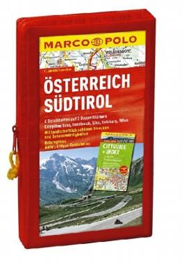 MARCO POLO Kartenset Österreich und Südtirol 1:200.000