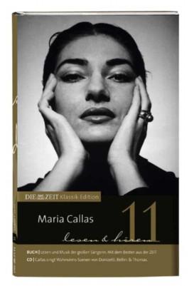 Maria Callas lesen und hören, Buch u. Audio-CD