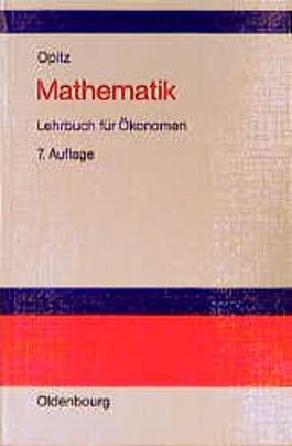 Mathematik, Lehrbuch für Ökonomen