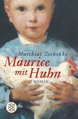 Maurice mit Huhn