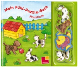 Mein Fühl-Puzzle-Buch Haustiere