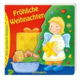 Mein Guckloch-Fühlbuch: Fröhliche Weihnachten