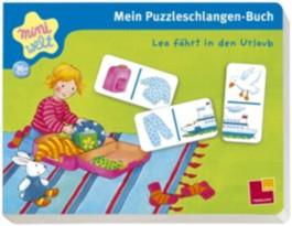 Mein Puzzleschlangen-Buch. Lea fährt in den Urlaub