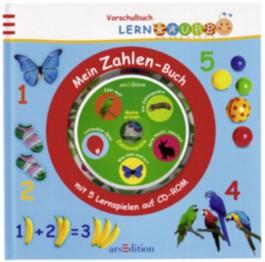 Mein Zahlen-Buch mit 5 Lernspielen auf CD-ROM