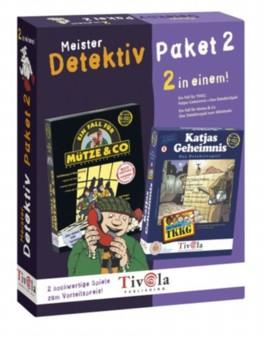 Meisterdetektiv-Paket, 2 CD-ROMs. Nr.2