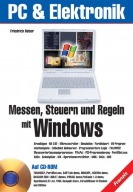 Messen, Steuern und Regeln mit Windows, m. CD-ROM