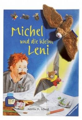 Michel und die kleine Leni, m. Plüschfledermaus