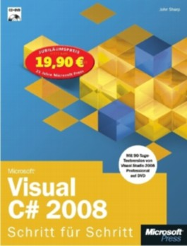 Microsoft Visual C# 2008 - Schritt für Schritt - Jubiläumsausgabe
