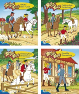 Mini-Bücher 24er-Display Bibi und Tina 5-8