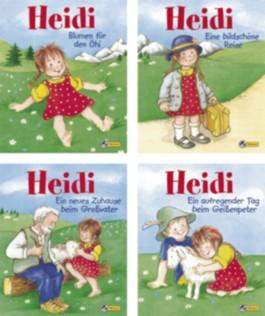 Mini-Bücher 24er-Display Heidi 1-4