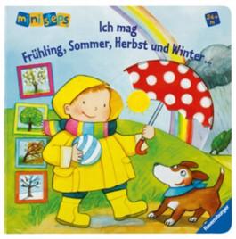ministeps® Bücher: Ich mag Frühling, Sommer, Herbst und Winter ...