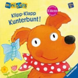 ministeps® Bücher: Klipp-Klapp, Kunterbunt!