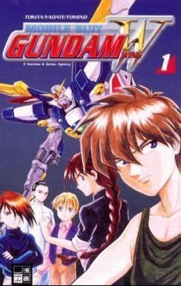 Mobile Suit Gundam Wing. Bd.1