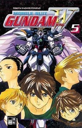 Mobile Suit Gundam Wing. Bd.5