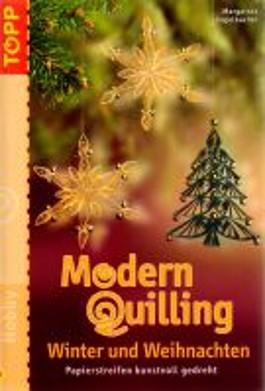 Modern Quilling Winter und Weihnachten