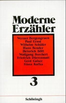 Moderne Erzähler. Bd.3