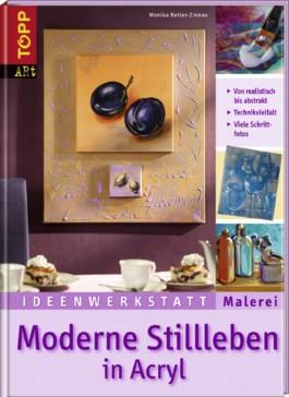 Moderne Stillleben in Acryl