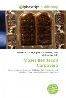 Moses Ben Jacob Cordovero
