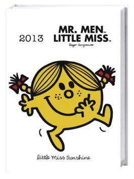 Mr. Men & Little Miss Kalenderbuch A6 2013
