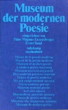 Museum der modernen Poesie, in 2 Bdn.