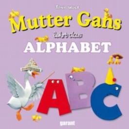 Mutter Gans lehrt das Alphabet
