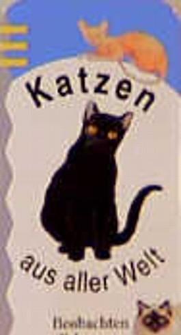 Naturfächer, Kartenfächer, Katzen aus aller Welt, Kartenfächer