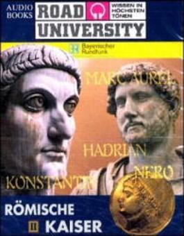 Nero, Hadrian. Marc Aurel, Konstantin, 2 Cassetten