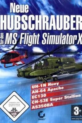 Neue Hubschrauber für den Flight Simulator X, CD-ROM