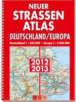 Neuer Straßenatlas Deutschland/Europa 2012/2013
