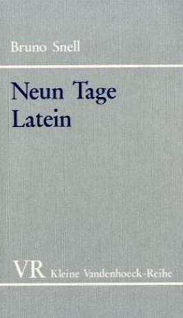 Neun Tage Latein