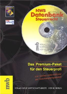 NWB-Datenbank Steuerrecht, 2 CD-ROMs