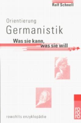 Orientierung Germanistik