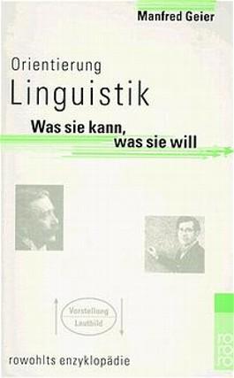 Orientierung Linguistik