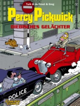 Percy Pickwick, Band 9: Diebisches Gelächter