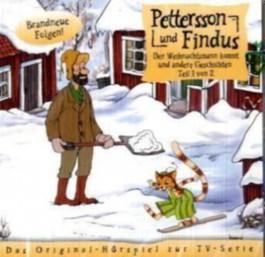 Pettersson & Findus - Der Weihnachtsmann und andere Geschichten, 1 Audio-CD