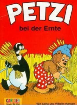 Petzi bei der Ernte
