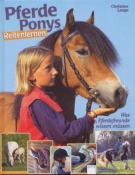 Pferde, Ponys, Reitenlernen