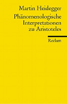 Phänomenologische Interpretationen zu Aristoteles